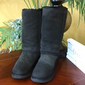 UGG Black Classic Tall Boots